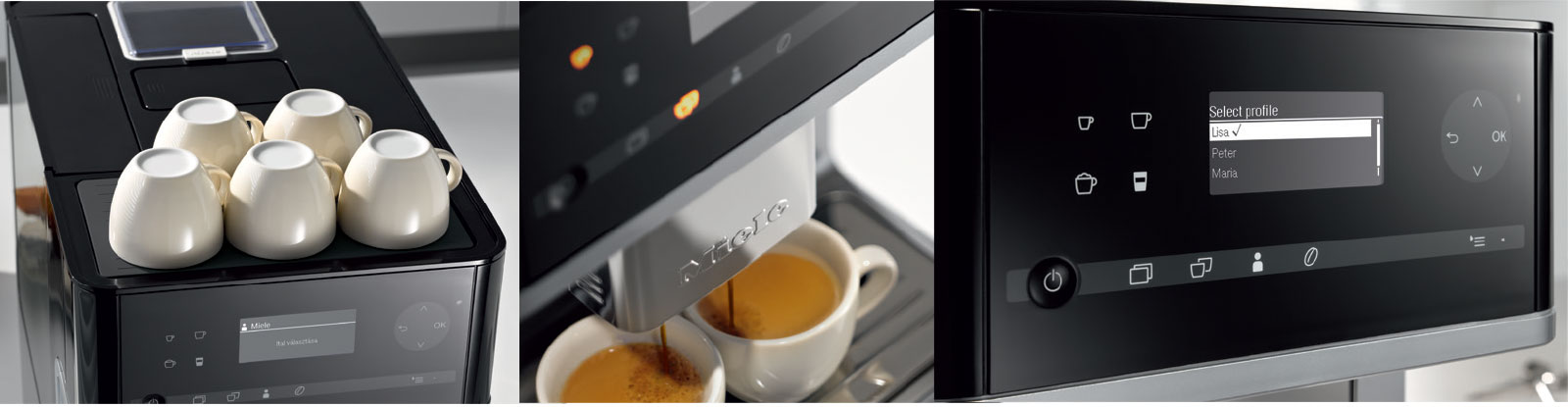 Miele-CM6 Coffee Espresso Machine System