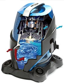 sirena bagless water vacuum denver - Vacuum Cleaners With Water