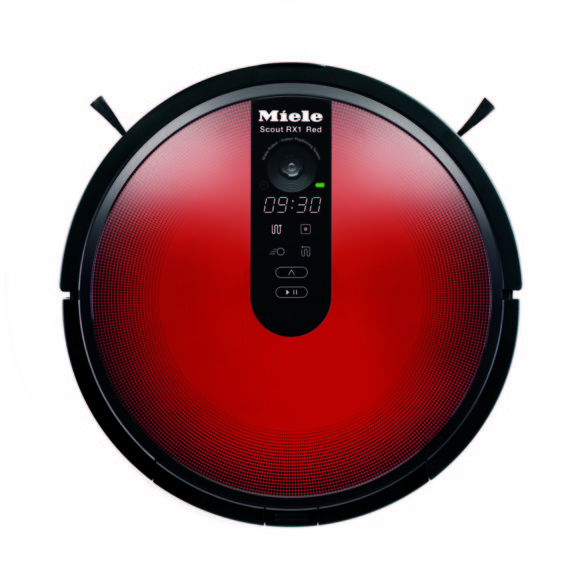 Miele Scout Robot Vacuum Red