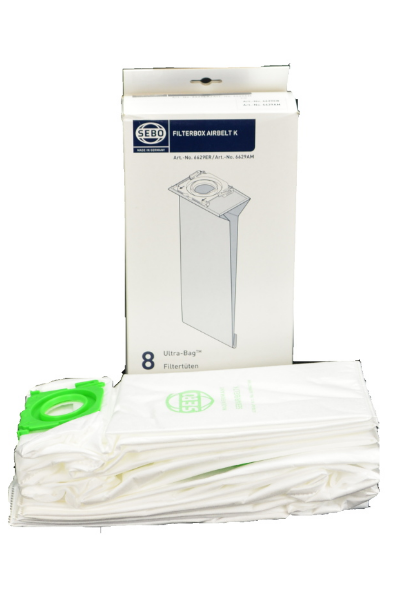 SEBO 6629AM Filter Bag Box